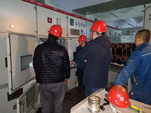 奥福集团进行安全检修工作