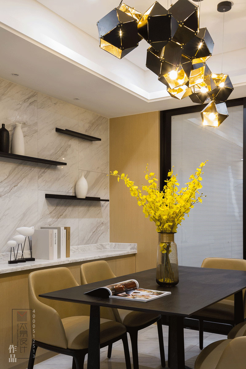 住宅空间:橙·邂逅|现代风格|143㎡
