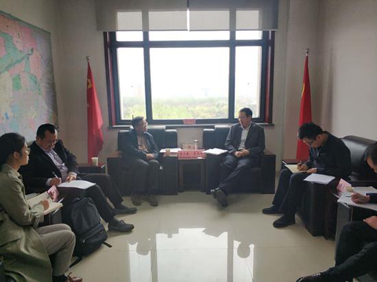 联盟李义春秘书长一行应邀赴西安市科学技术局交流