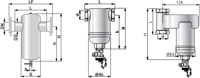 进口螺旋型除渣器
