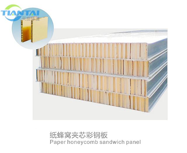 陕西空气净化工程-纸蜂窝夹心彩钢板