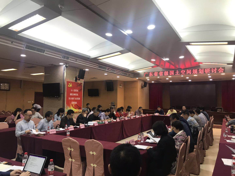城市空间应邀出席广东省省级国土空间规划研讨会