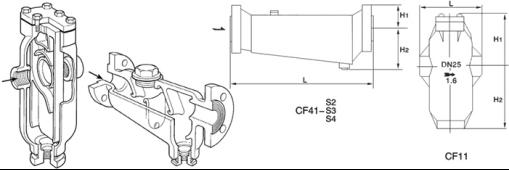 進口汽水分離器