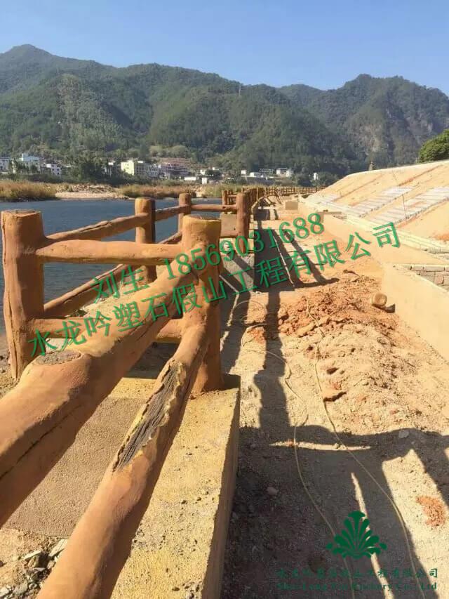 水泥仿木具有哪些优势特点?