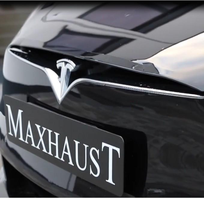Maxhaust专业打造秒杀燃油车声浪的特斯拉Model S/X