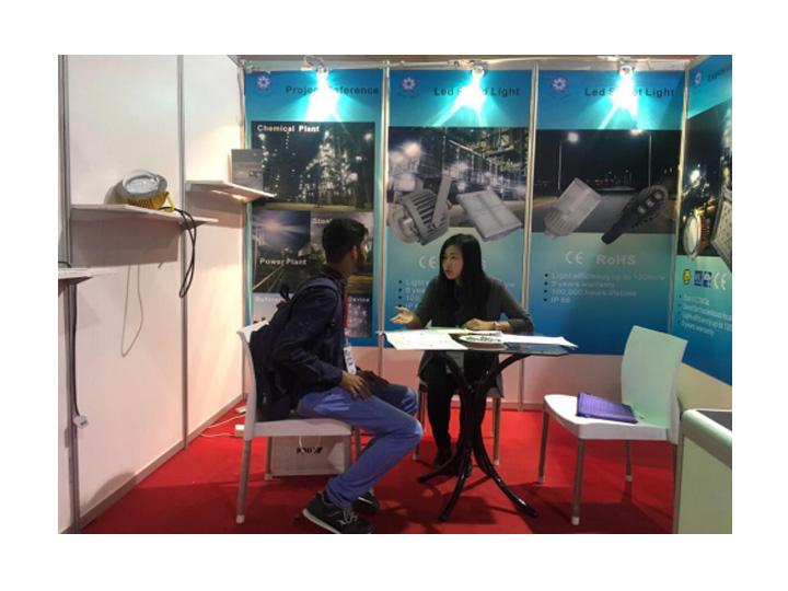 raybet雷竞技官网照明参加巴基斯坦工业展会