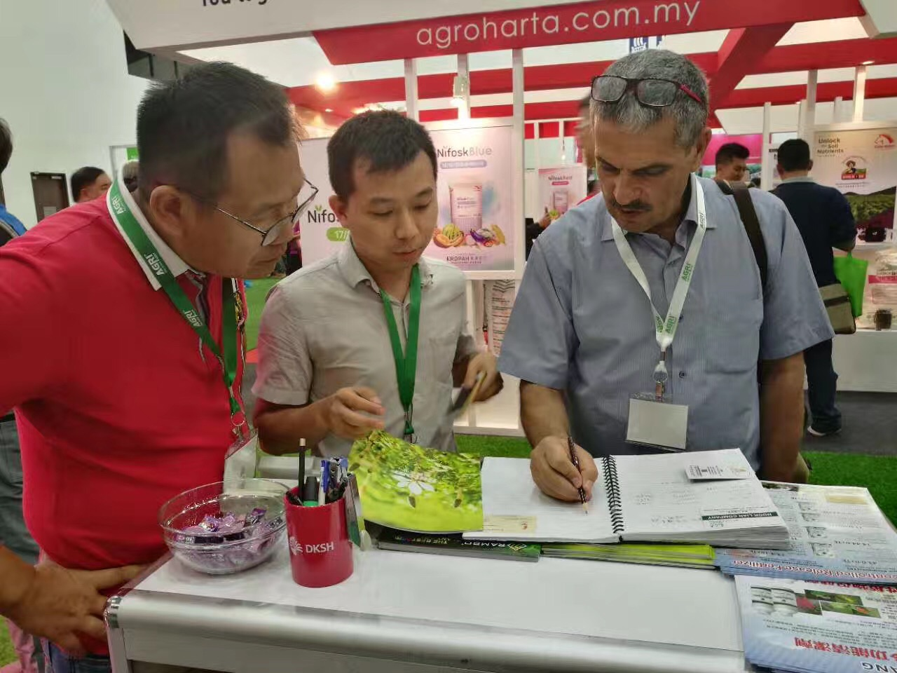 Rutom attended Agri Malaysia 2017 Exhibition