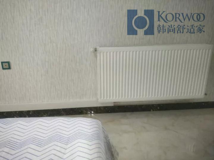 韓尚舒適家明裝采暖施工流程