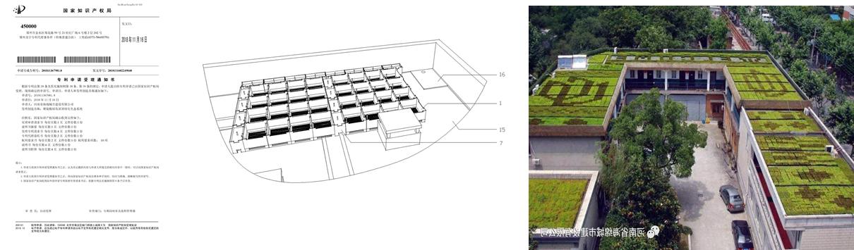 聚氨酯绿岛屋顶绿化生态系统