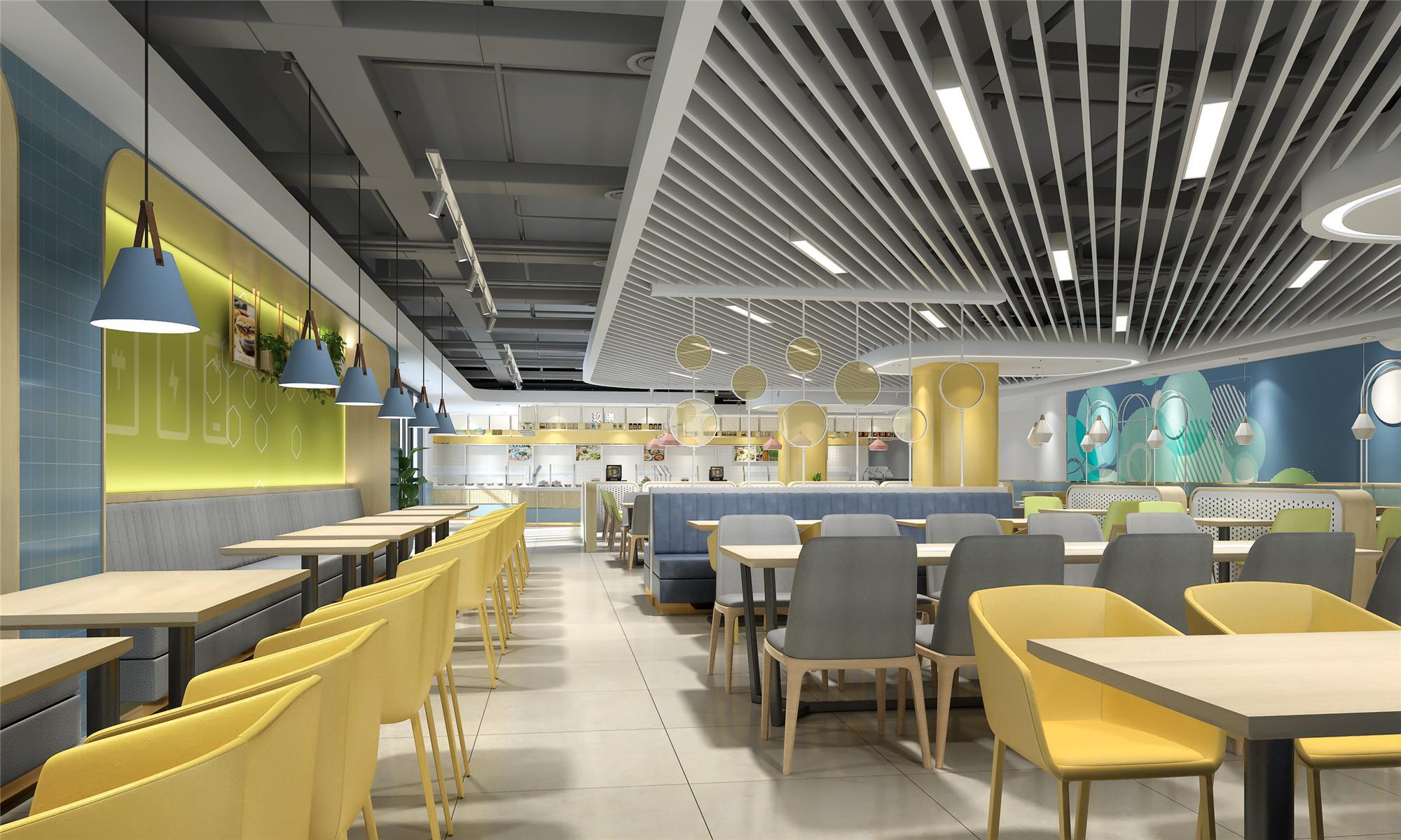 华为西安软件大厦呼叫中心员工餐厅