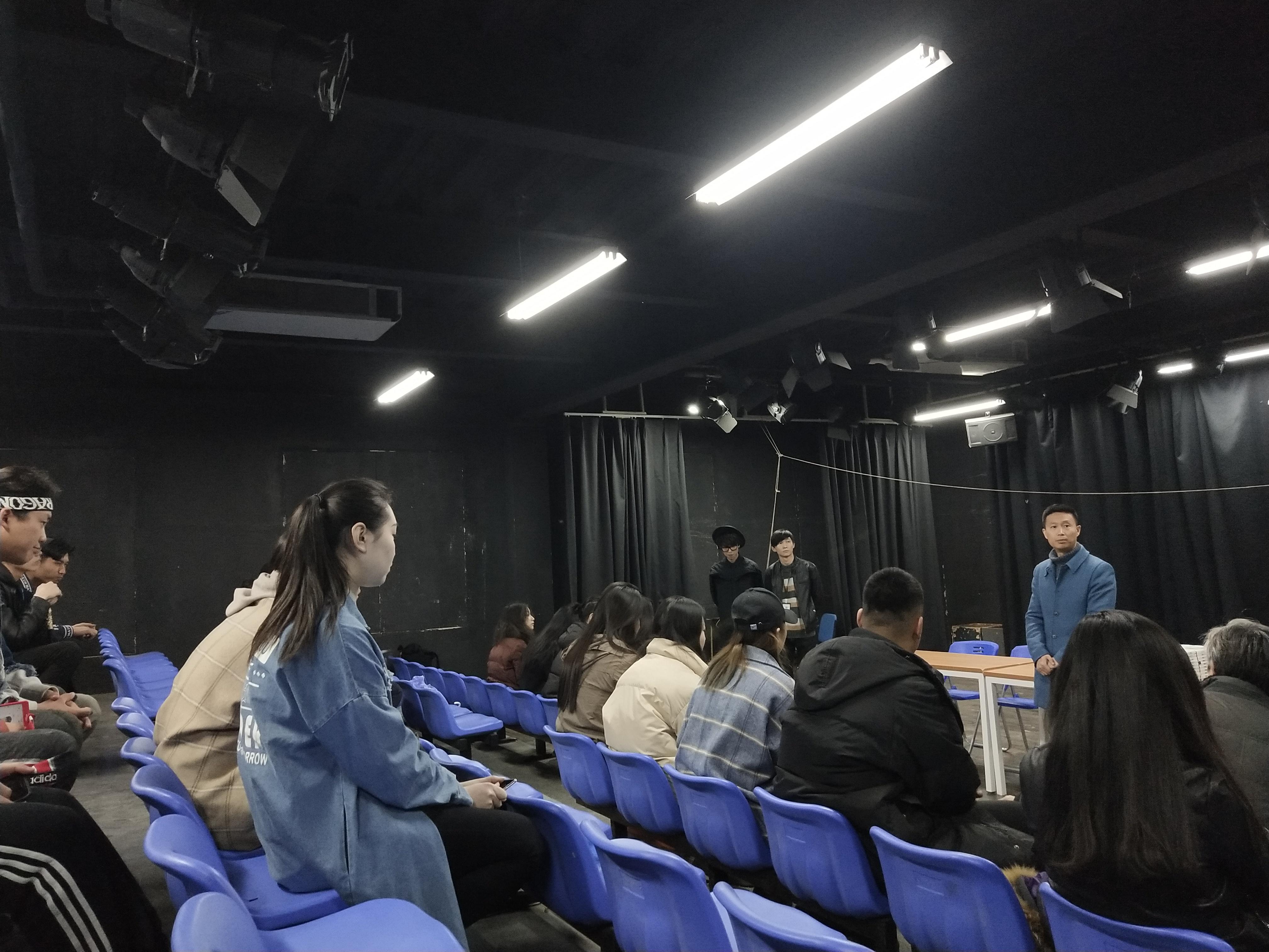 表演系学生会召开第二次全体会议