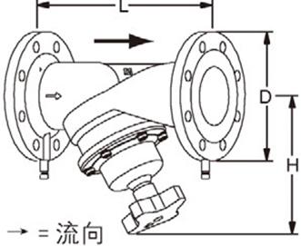 进口TA型静态流量平衡阀