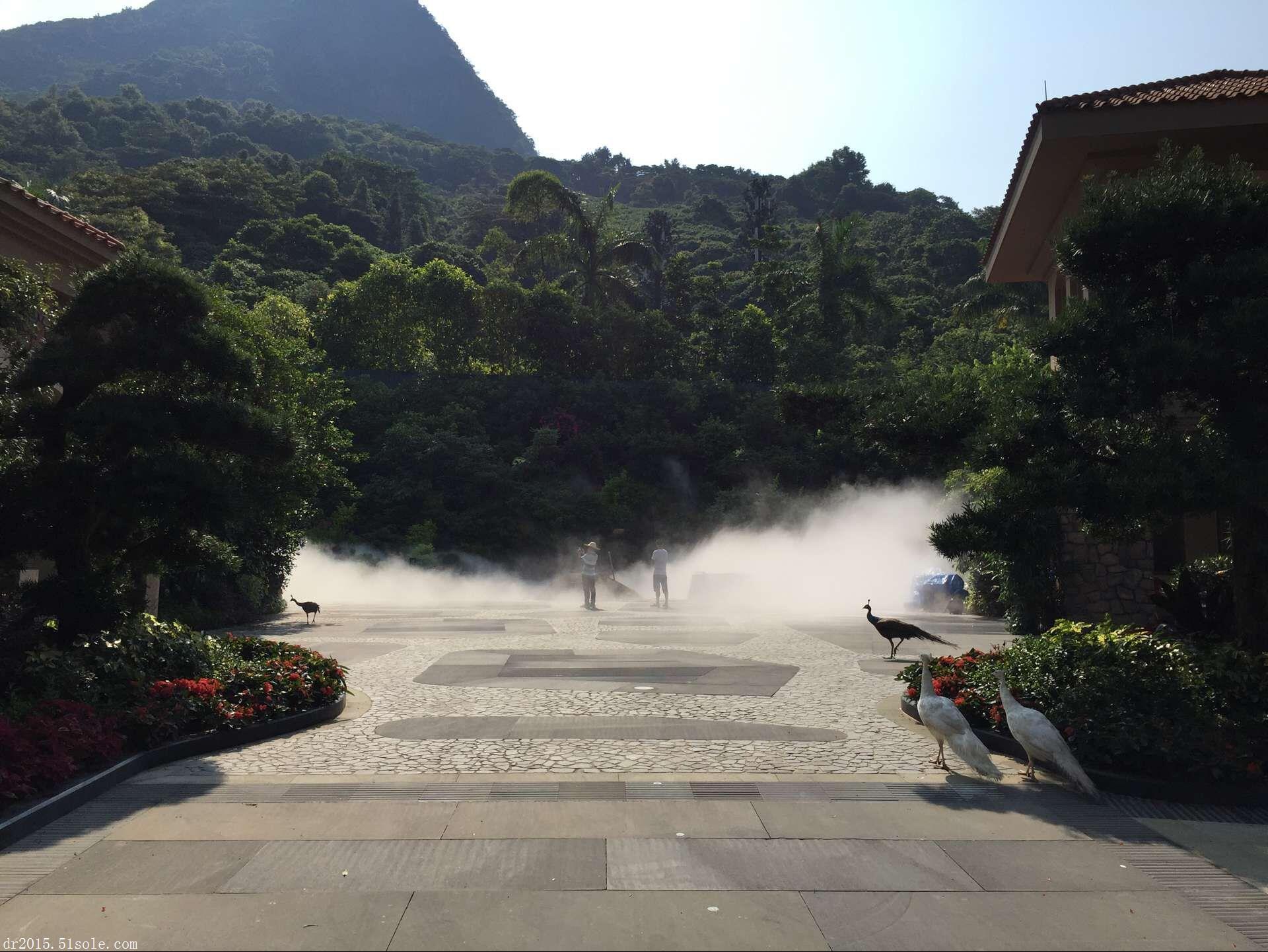 园林景观人造雾喷雾降温万博官方网站manbetx