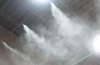 采矿工作面喷雾降尘防尘