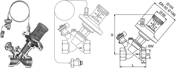 进口自力式压差控制器