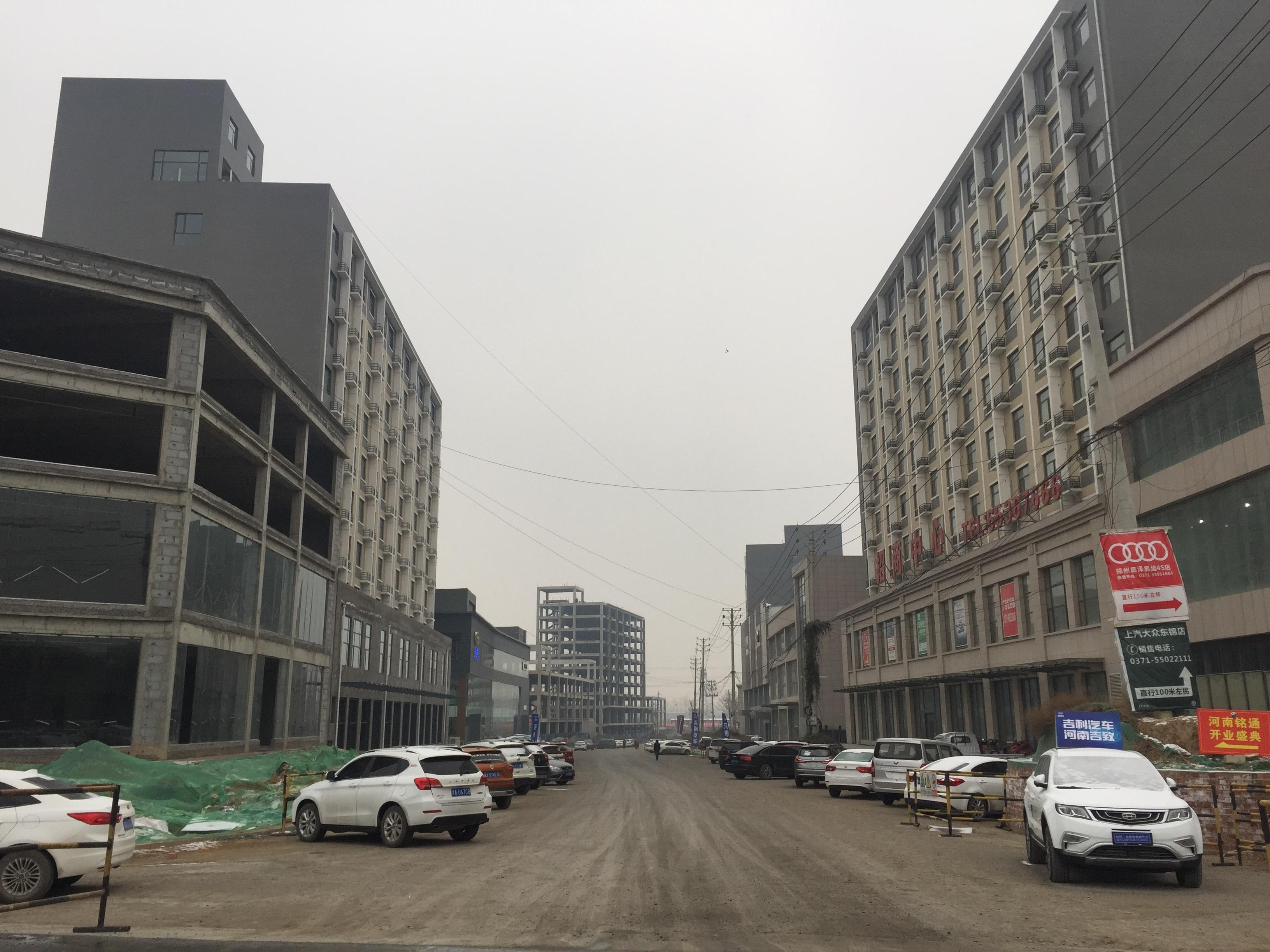大中原国际亚博体彩官网兰州路落实到位目前已通车