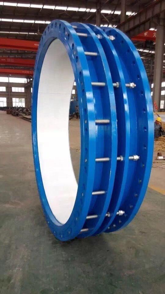排水管道钢制双法兰限位伸缩器裕隆造