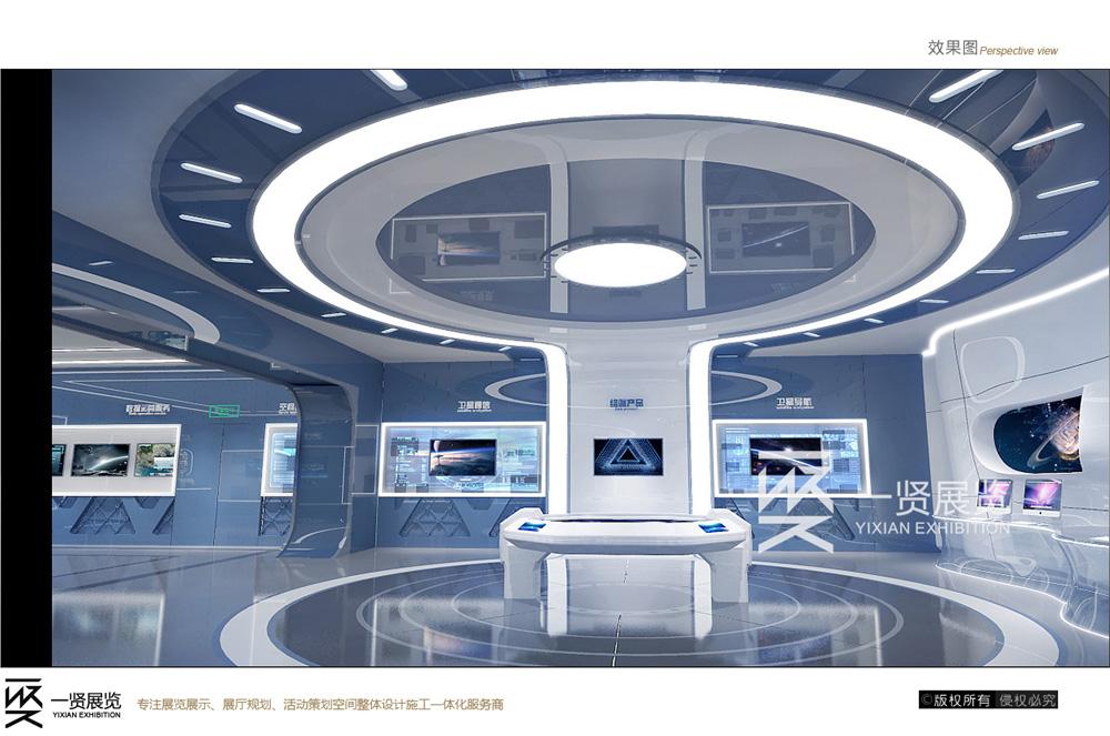 展厅展台搭建施工-中国航天