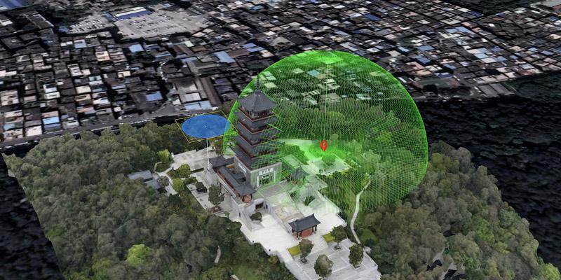 三维GIS综合管理平台