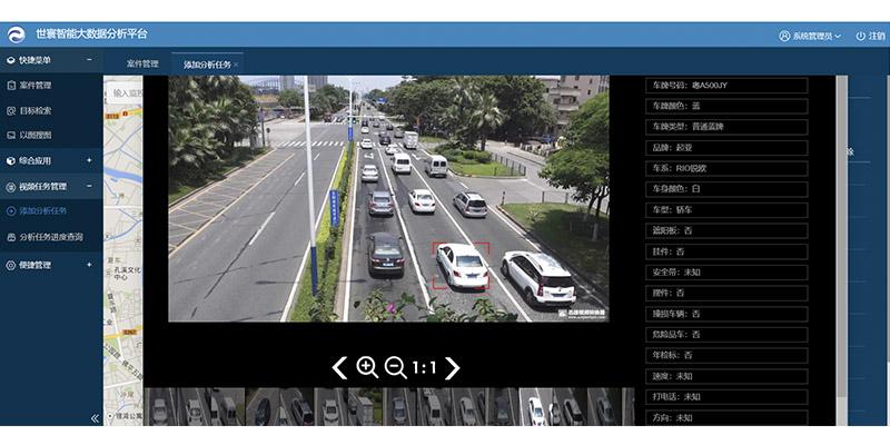 视频结构化大数据平台