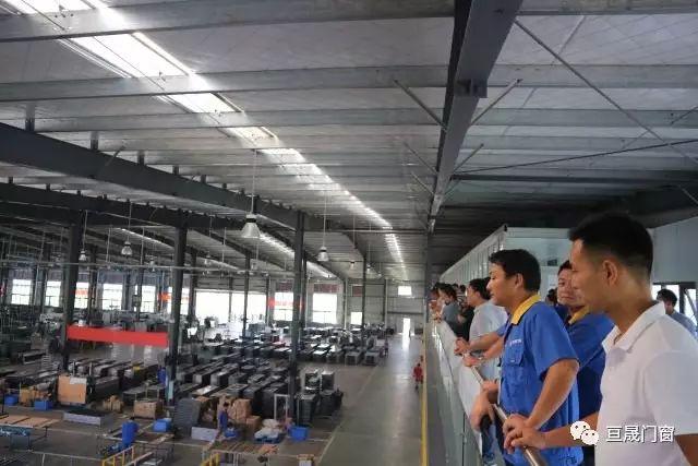 亙愛系統門窗工廠開放日暨簽約儀式
