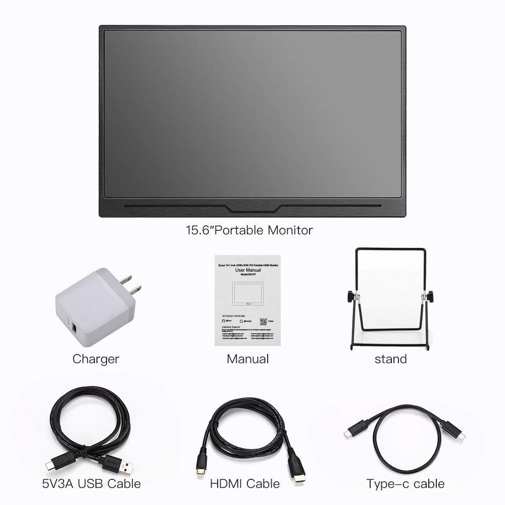 Portable HDMI Monitor, Eyoyo 15.6