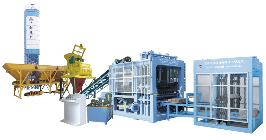 QTY9-18型液压全自动砖机