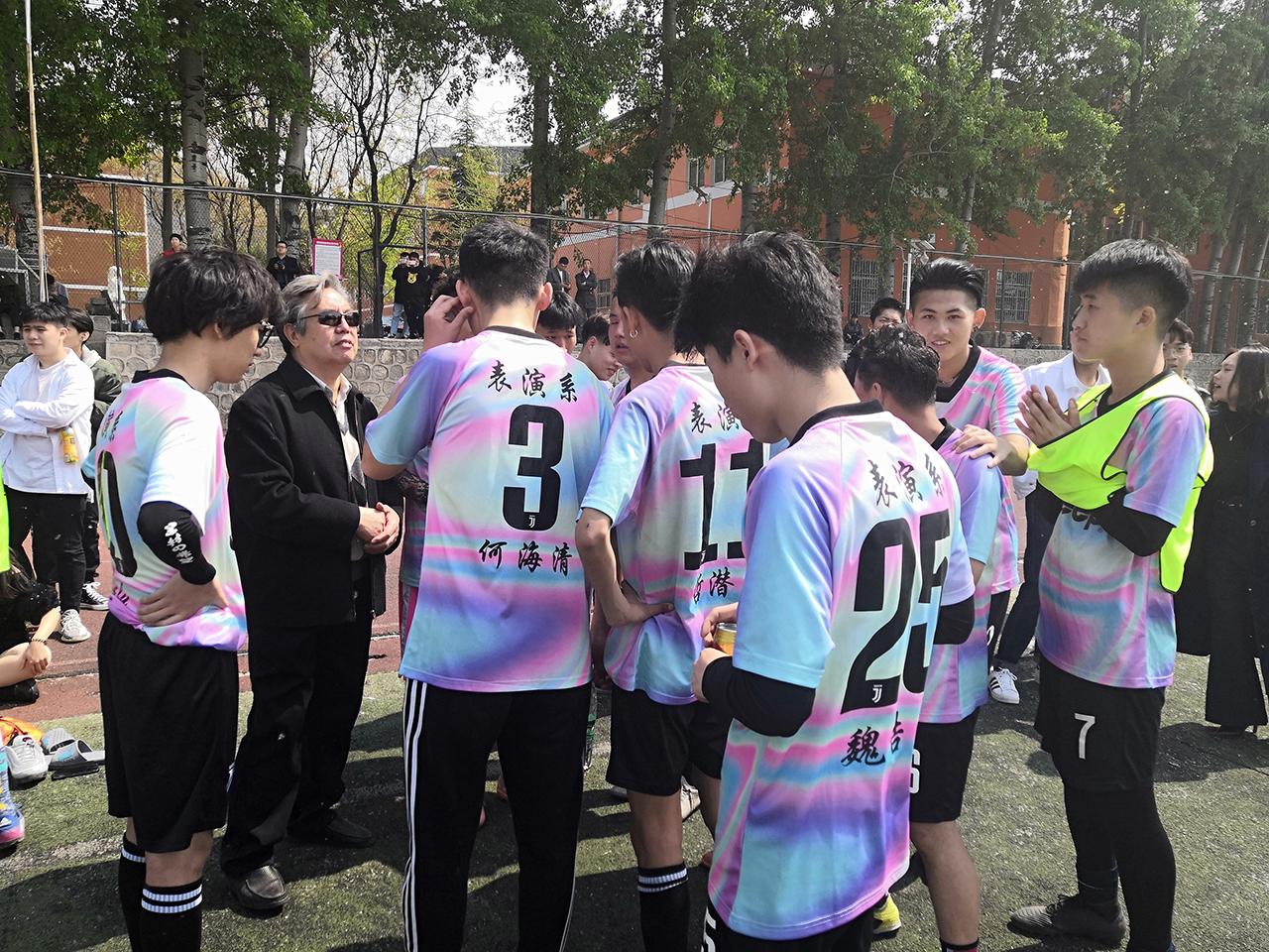 表演系取得北京演艺专修学院足球比赛冠军