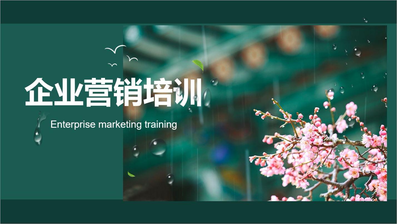 企业营销培训