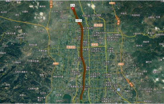 山西省污染事件环境损害模拟系统建设