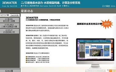 二/三维水动力-亚博电竞官网模型软件