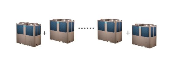 不同容量规格的单元模块可自由组合