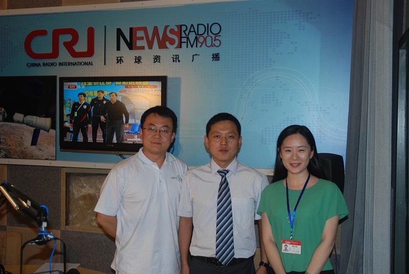 谢志越做客国家广播电台