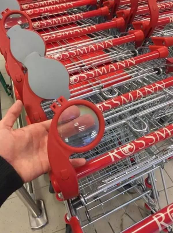 这样的超市购物篮,你肯定没见过…