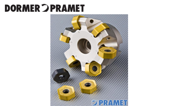 Dormer PRAMET双面 12 个切削刃
