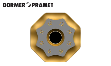 Dormer PRAMET八角形刀盘