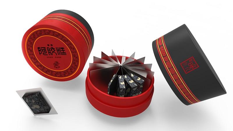 修正阿胶糕产品包装设计