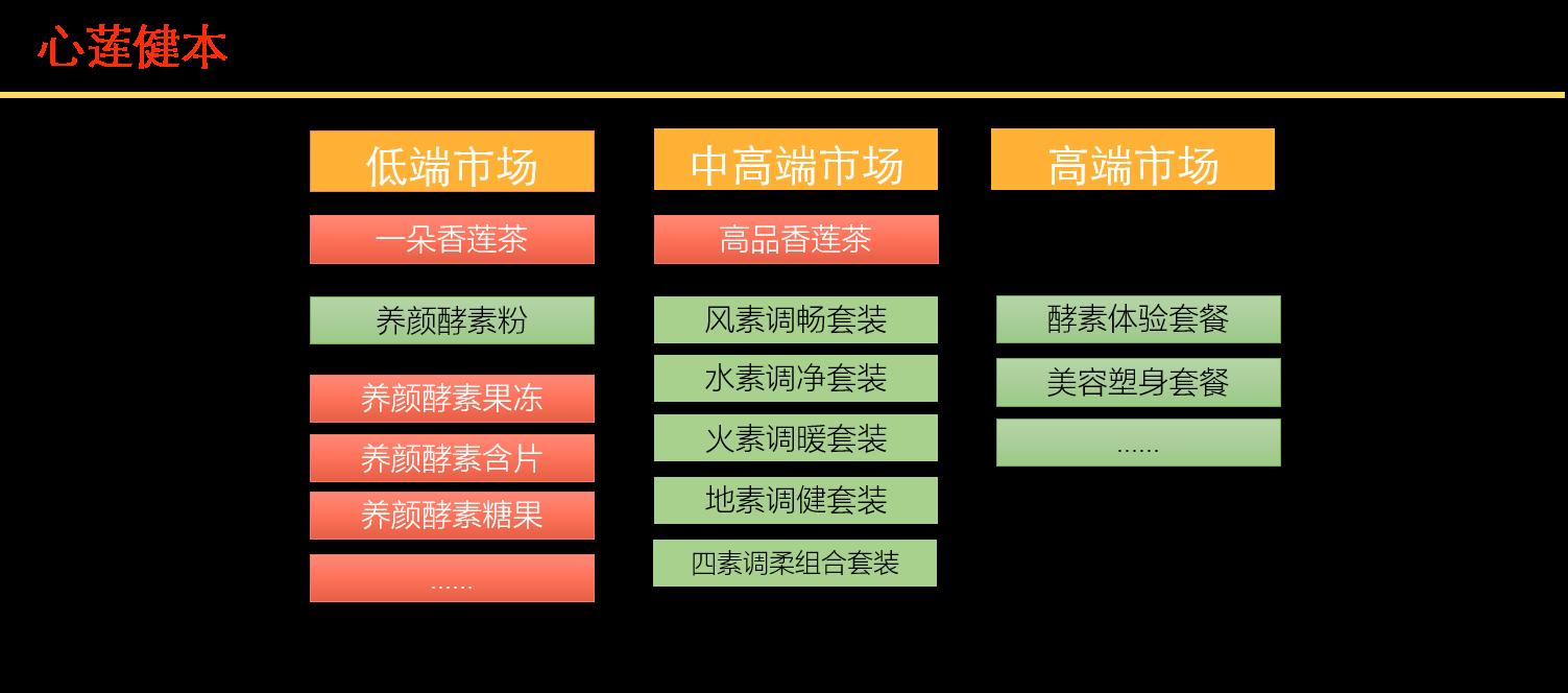 心莲健本酵素营销全案策划项目
