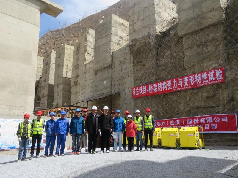 拜尔液压同步顶升系统获得中国铁路总公司领导高度认可