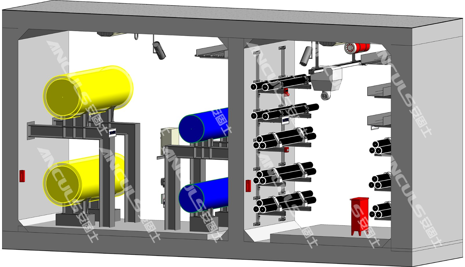 综合管廊支架系统