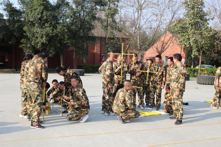 馨盛生物2018年团队拓展训练营