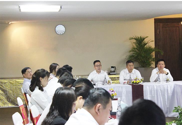公司5月份述职会议在印尼巴厘岛顺利召开