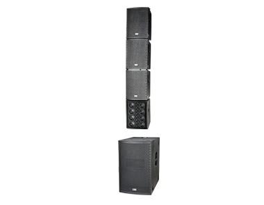 多功能緊湊型有源線陣列音箱系統  GL4