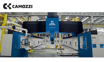 camozzi龙门移动高架导轨机床