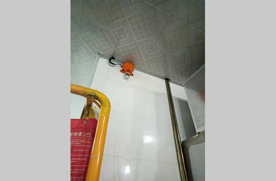 无眼界科技酒店厨房、餐饮业可燃气体报警器安装案例