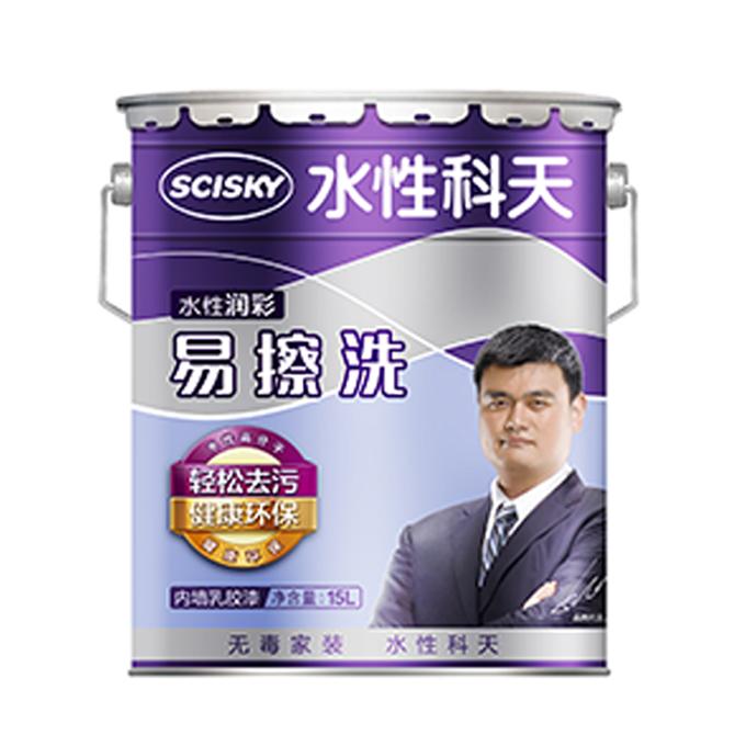 雷竞技app下载官方版润彩易擦洗内墙乳胶漆