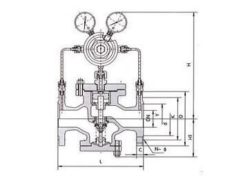 进口压缩空气调压阀