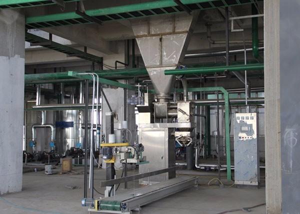 某氯碱厂片碱包装厂房(包装机)
