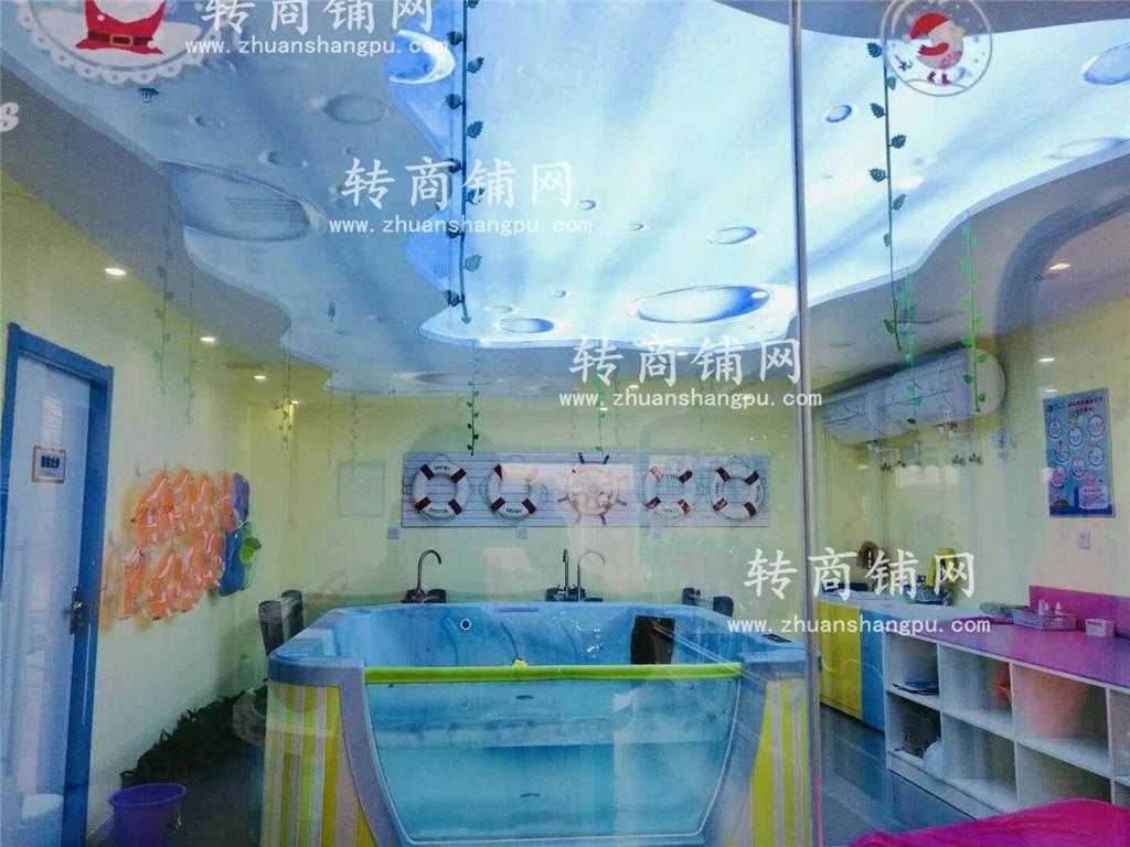 国际品牌婴幼儿游泳馆急转!!