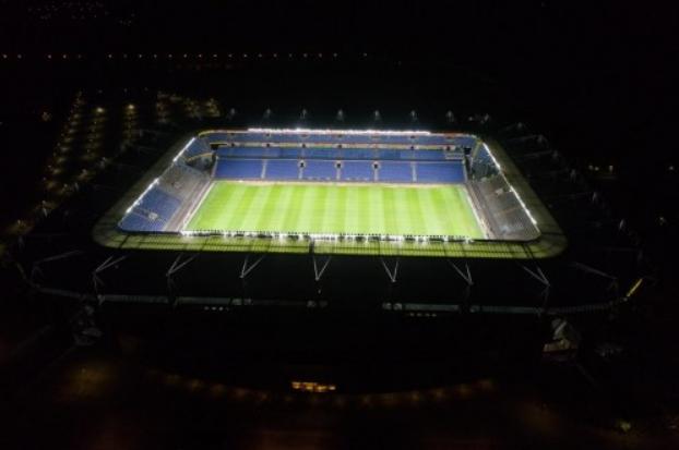 中国LED体育照明走出国门,入驻丹超俱乐部主场